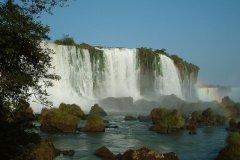 巴西伊瓜树大瀑布