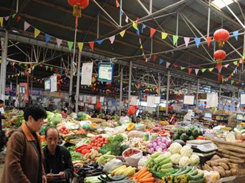 拉萨大市场