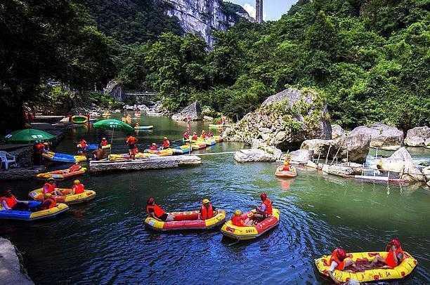 南江大峡谷漂流