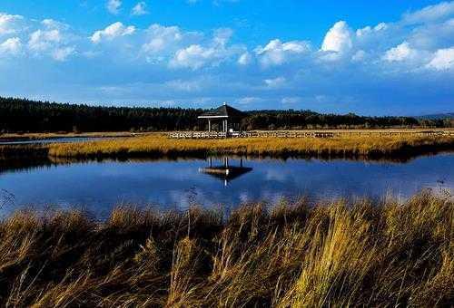 七星湖沙漠旅游生态区