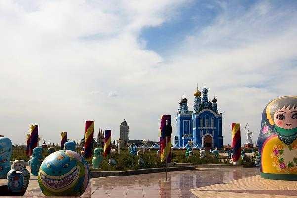 俄罗斯套娃广场