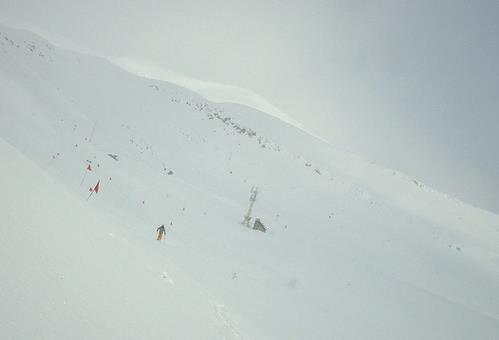 西坡天然滑雪场