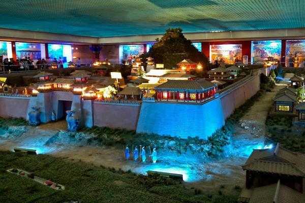 秦陵地宫展览