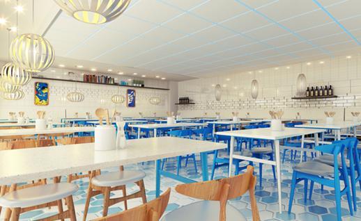 蔚蓝茶餐厅