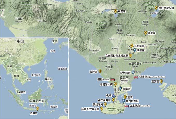 巴厘岛在哪里?巴厘岛在哪个国家?