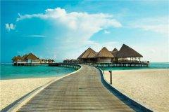 马尔代夫最干净的岛屿-富士岛