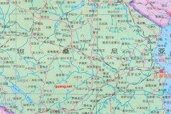 坦桑尼亚地图_坦桑尼亚地图查询