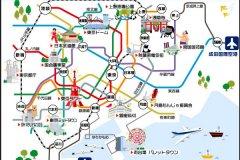东京旅游攻略-东京地图