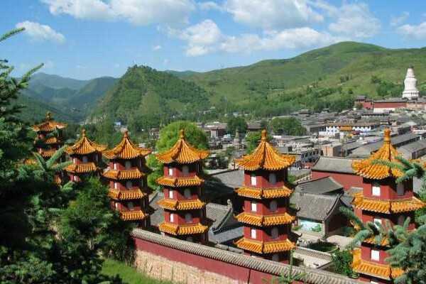 > 五台山旅游攻略-五台山旅游地图         五台山风景区就位于中国