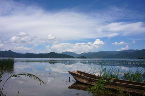 泸沽湖草海