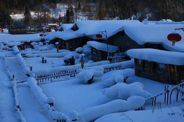 魔界、朝鲜族村、长白山、雪乡、亚布力、哈尔滨七日游