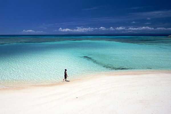 长滩岛白沙滩