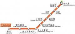 北京地铁房山线时间表-北京地铁房山线首发时间,时间间隔