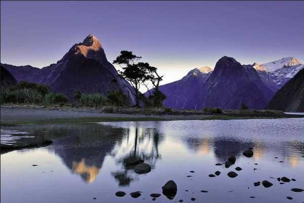 新西兰峡湾