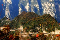 丹霞地貌景观-云台山旅游攻略