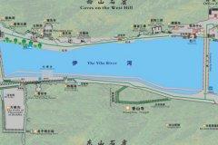 龙门石窟旅游线路图
