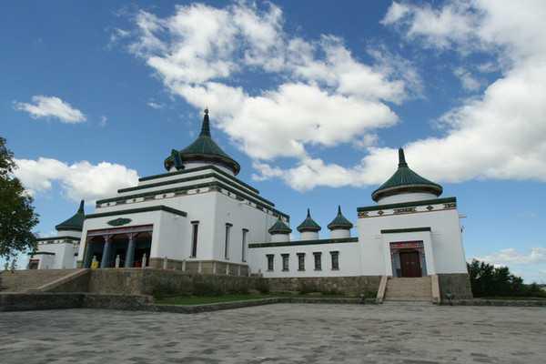 成吉思汗大庙