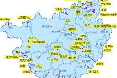 南宁最佳旅游季节-南宁旅游地图