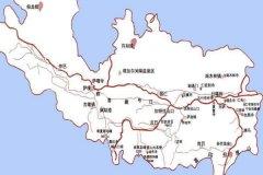 日喀则旅游攻略-日喀则地图