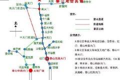 泰山旅游攻略-泰山旅游景区地图