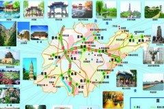 济南旅游地图-济南旅游著名景点介绍