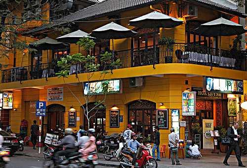 Hguyen Hue街