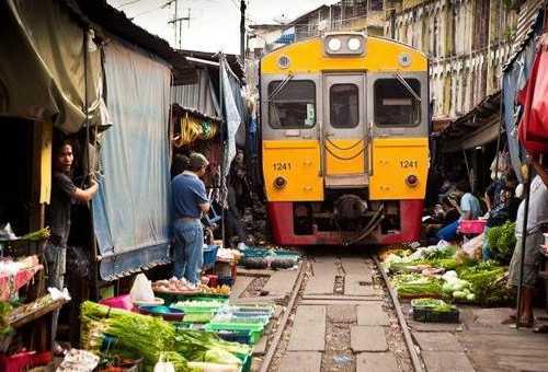 曼谷火车市集
