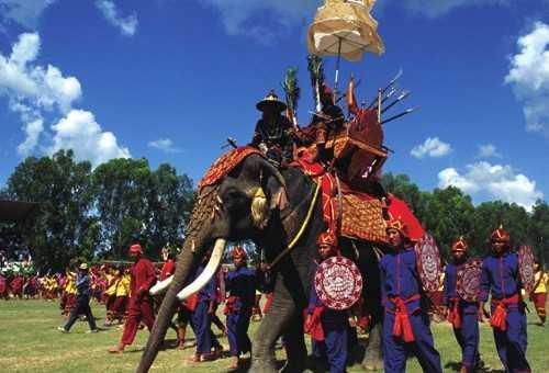 骑大象丛林旅行