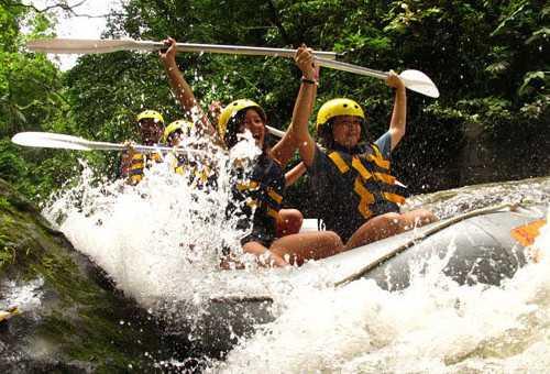 印尼阿勇河漂流