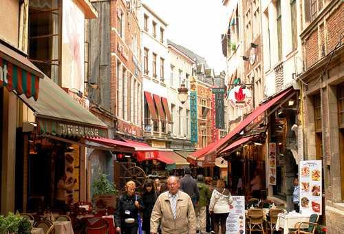 布鲁塞尔海鲜街