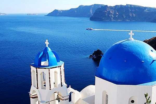 【希腊9日】蓝顶教堂+圣托尼里岛+米克诺斯岛朝圣之旅